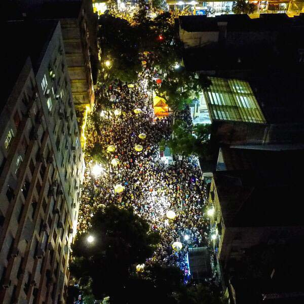 Carnaval de rua agita Porto Alegre - Carnaval de rua agita Porto Alegre