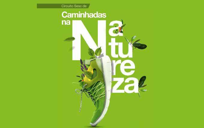 Circuito Sesc de Caminhadas na Natureza - Circuito Sesc de Caminhadas na Natureza em Santa Catarina