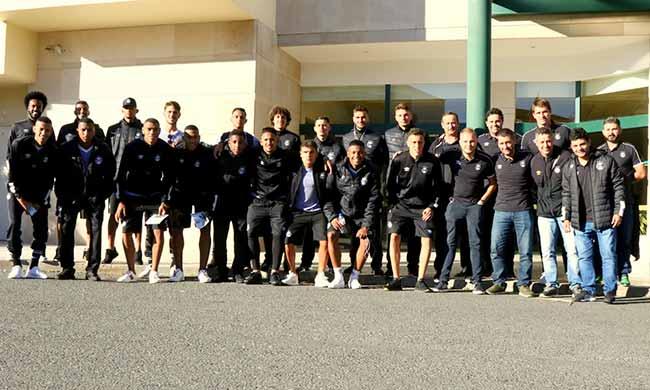 Delegação gremista chega em Portugal 1 - Excursão Grêmio Prato Fino Europa 2019