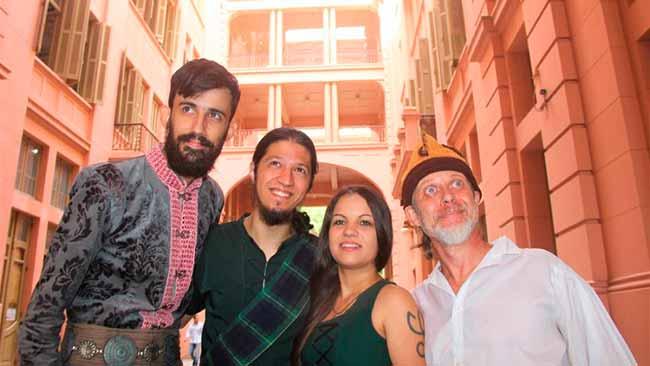 Dia de São Patrício é celebrado pelo Consulado Irlandês na Casa de Cultura - Consulado Irlandês celebra Dia de São Patrício na Casa de Cultura Mario Quintana