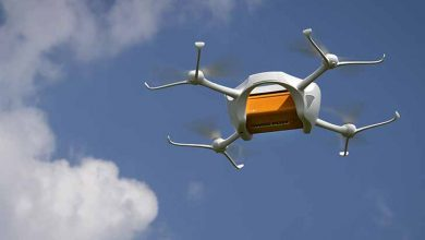 Drone de entregas 390x220 - UPS faz parceria com a startup de drones para entregas de exames médicos