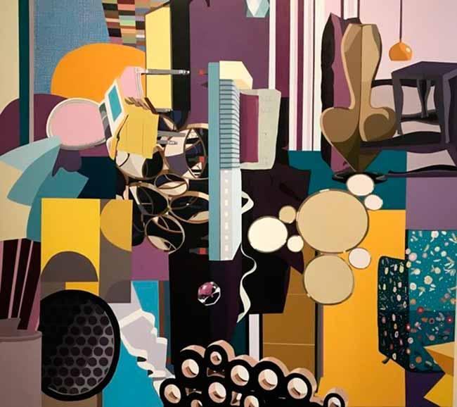 Exposição de pinturas reúne dez artistas - Exposição de pinturas segue até 15 de março na Pinacoteca Aldo Locatelli