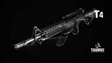 Fuzil Taurus T Series t4 390x220 - Feira de defesa e segurança vai ocorrer em abril no Rio de Janeiro