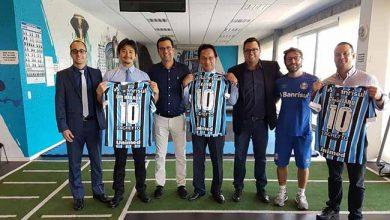 Grêmio recebe visita do Consulado Geral do Japão 390x220 - Grêmio recebe visita do Consulado Geral do Japão