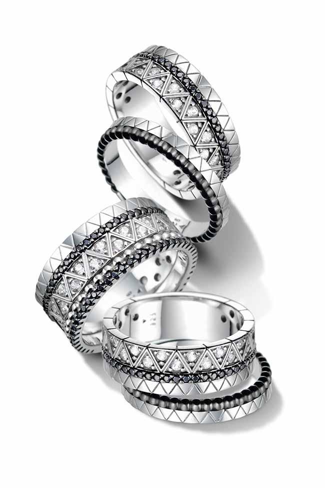 Icona Prata Cascata Aneis 3 - Vivara lança joias em prata da coleção Icona