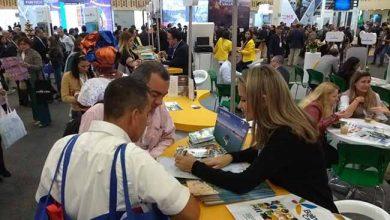 Ludiane Oliveira do BC Convention em feira na Colômbia 390x220 - Balneário Camboriú participa de feira internacional de turismo na Colômbia