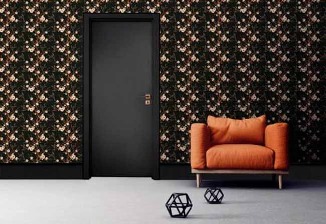 Pormade lança porta preta na Expo Revestir - Pormade lança porta preta na Expo Revestir