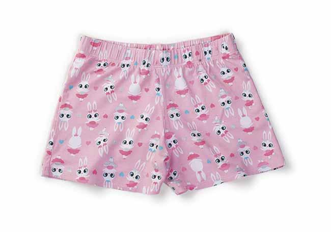 Puket Shortdoll coelha bailarina shorts R 17990 - Puket apresenta linha especial para Páscoa