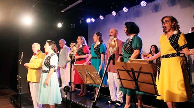 Rádio Borogodó - Espetáculo sobre a era de ouro do rádio no Teatro Bruno Kiefer em abril