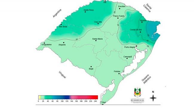 RS terá tempo seco e temperatura elevada na próxima semana - RS: tempo seco e temperatura elevada na próxima semana