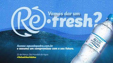 Refresh 390x220 - Água da Pedra fará ação especial pelo Dia Mundial da Água