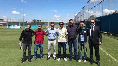 Representantes da Seleção do Catar 390x220 - Representantes da Seleção do Catar visitam instalações do CT do Grêmio