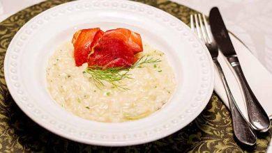 Risoto de Erva Doce com Chips de Parma 390x220 - Risoto de Erva-Doce com Chips de Parma