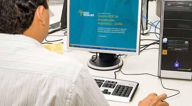 SIDRA home Licia - IBGE abre inscrições para curso gratuito de visualização de dados