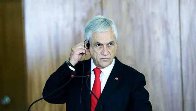 Sebastián Piñera - Presidente do Chile defende Prosul como um fórum sem ideologias