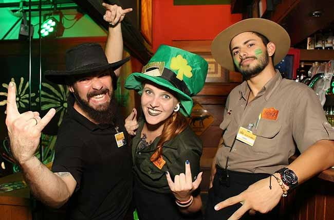 St. Patrick´s Day Night Cia - St. Patrick´s Day: Tape Vox e muito chopp no Didge BC