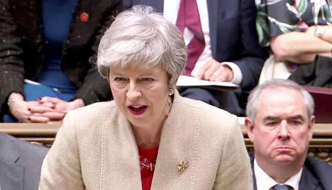 Theresa May - Parlamento britânico rejeita acordo do Brexit pela terceira vez