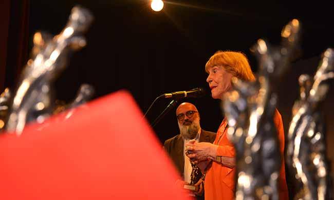 Zoravia Bettiol e Roger Lerina ao fundo crédito Ana Paula Ribeiro - Festival Internacional de Cinema da Fronteira acontece em abril