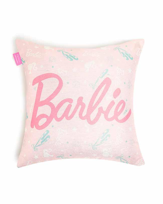 almofada barbie bailarina 40x40cm 13018620 foto2 costas - Barbie e Riachuelo lançam coleção de cama e banho infantil