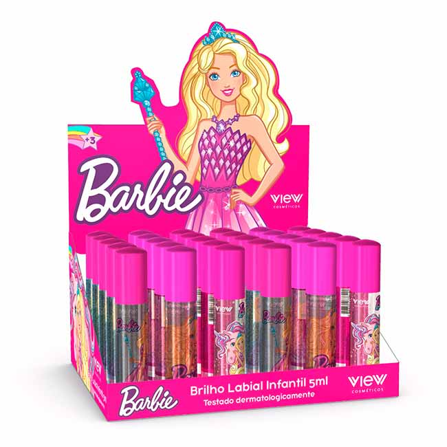 barbie make - Barbie lança View Cosméticos
