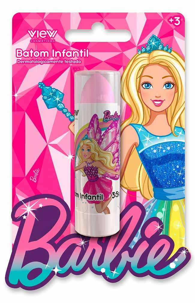 barbie make1 - Barbie lança View Cosméticos