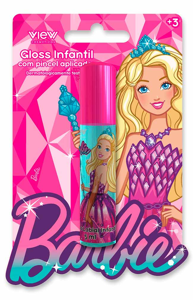 barbie make2 - Barbie lança View Cosméticos