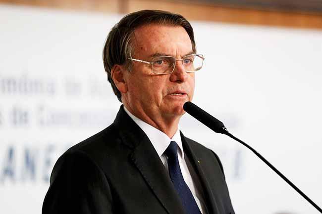 bolsonaro 1 - Bolsonaro diz que países usam incêndios para prejudicar