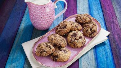 cookies de aveia sucralose 390x220 - Receita de cookie saudável