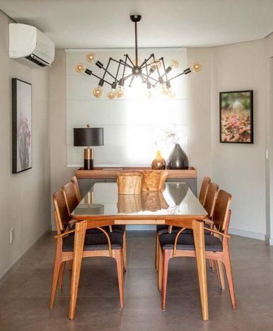 dec 1 386x468 - Dicas de decoração para ter uma sala de jantar receptiva e moderna