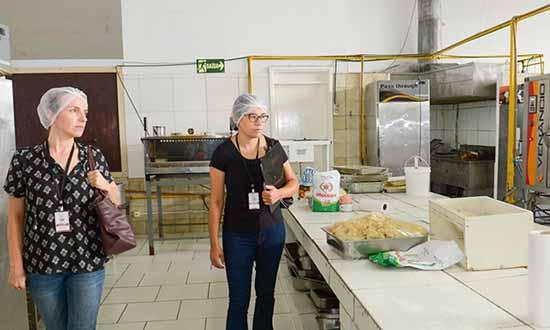 espaços de alimentação e drogarias nos pavilhões da Festa da Uva de Caxias do Sul 3 - Segurança alimentar durante a Festa da Uva 2019