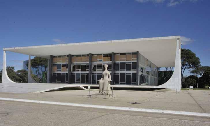 fachada supremo stf 1 - STF mantém decisão que impede retorno de presos federais aos estados