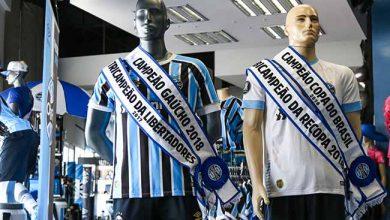 faixas de campeão na GrêmioMania 390x220 - Tricolor: faixas de campeão estão à venda na GrêmioMania