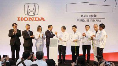 honda  390x220 - Honda inaugura sua segunda fábrica de automóveis no Brasil