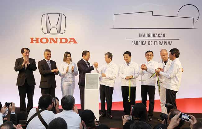 honda  - Honda inaugura sua segunda fábrica de automóveis no Brasil