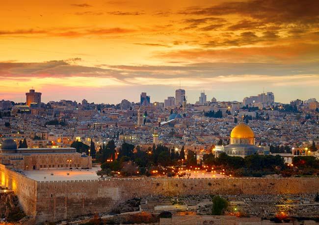 Israel é coisa judaica com beleza e  fé