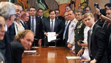 maia refprev 390x220 - Bolsonaro entrega reforma previdenciária dos militares ao Congresso