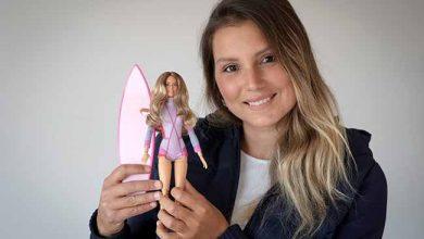 maya gabeira 390x220 - Maya Gabeira vira boneca Barbie