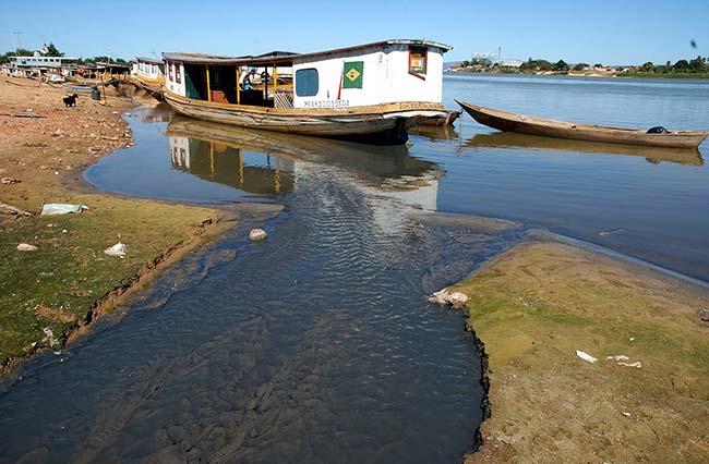 sao francisco fabio pozzebom - Qualidade boa da água em apenas 6,5% dos rios da Mata Atlântica