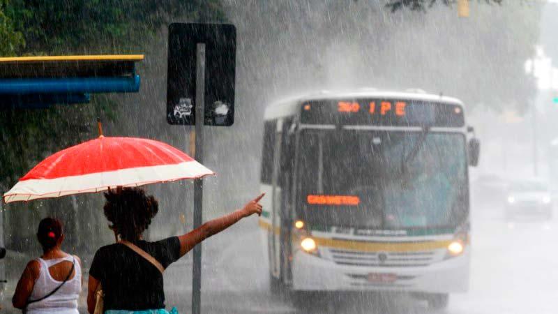 tempors - Verão gaúcho termina com nebulosidade e pancadas de chuvas