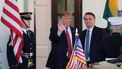 trumpbolso 390x220 - Trump pretende incluir Brasil na OCDE