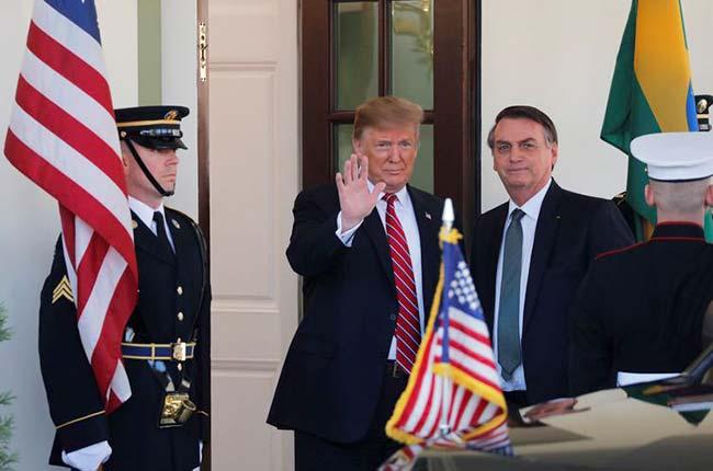 trumpbolso - Trump pretende incluir Brasil na OCDE