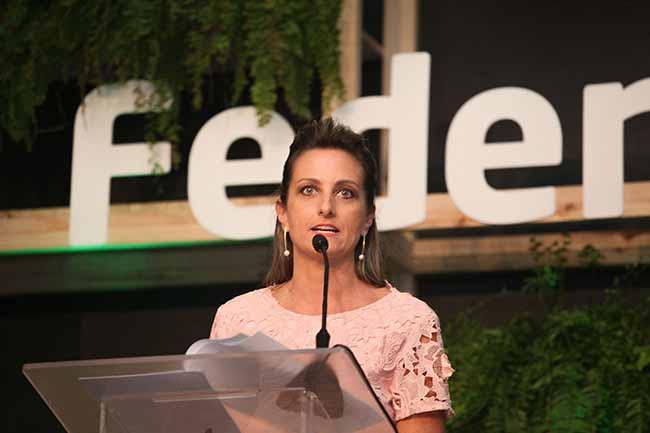 A diretoria fica no comando da entidade até 2020. Fotos Rosi Boni 4 - Simone Leite toma posse para segunda gestão na Federasul