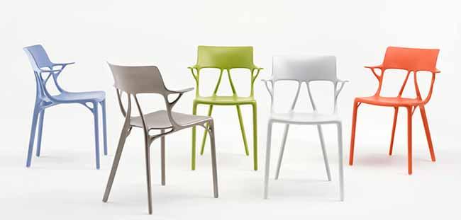 A.I Chair - Autodesk e Philippe Starck apresentam projeto no Milan Design Week