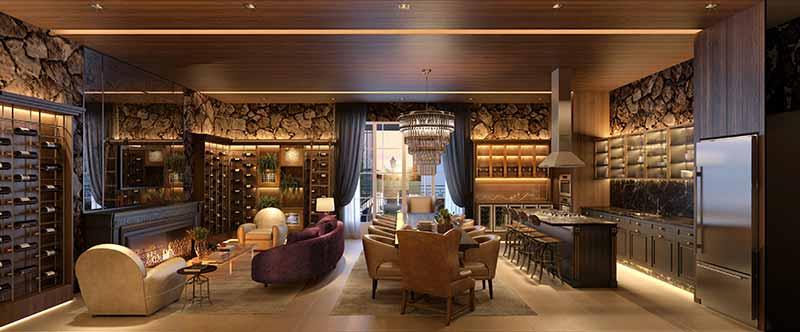 AUR 02 Wine Bar EF - Luxo em Balneário Camboriú: Hamptons Village e Aurora Exclusive Home
