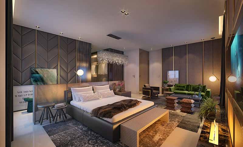 AUR 12 Suite Master EF - Luxo em Balneário Camboriú: Hamptons Village e Aurora Exclusive Home