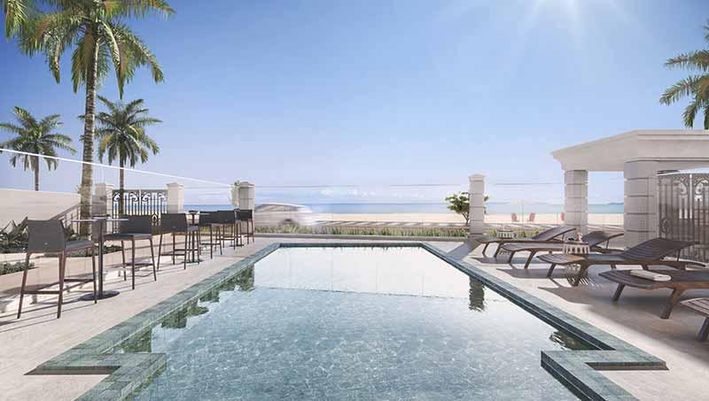 AUR 26 Fachada Fotomontagem EF - Luxo em Balneário Camboriú: Hamptons Village e Aurora Exclusive Home