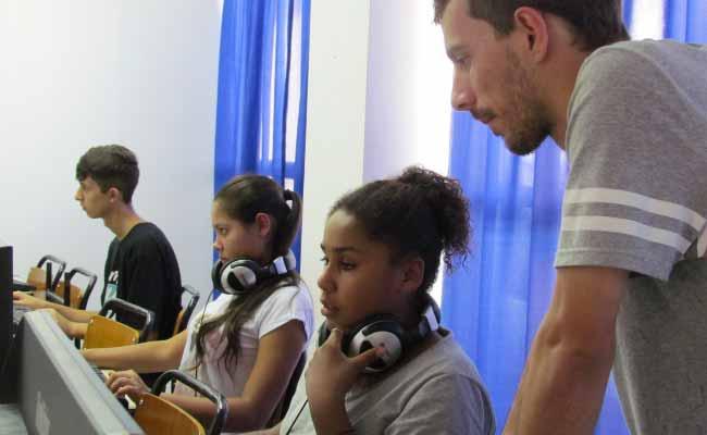Audiovisual PMNH - Audiovisual: um projeto que tem conquistado jovens na Boa Saúde