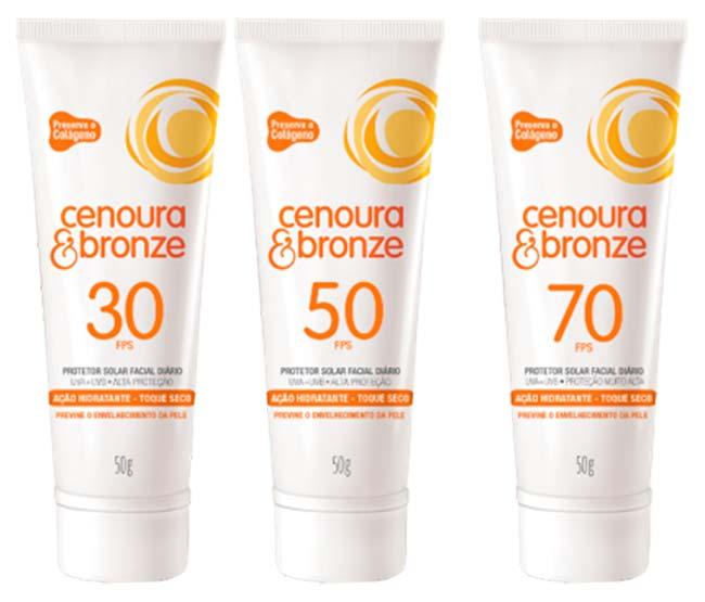 Cenoura Bronze - Proteção solar para pele negra