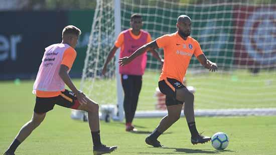 Colorado treina forte 3 - Inter treina forte para enfrentar o Flamengo
