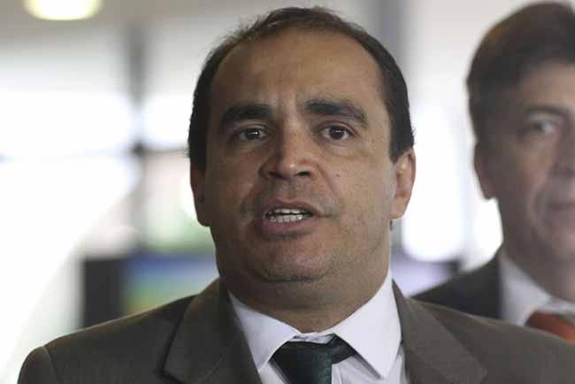 Deputado Delegado Marcelo Freitas fala à imprensa no Palácio do Planalto - Reforma da Previdência: Relator apresenta parecer na terça